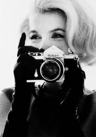 Marilyn Monroe Des gens célèbres avec des appareils photos  photo liens divers bonus