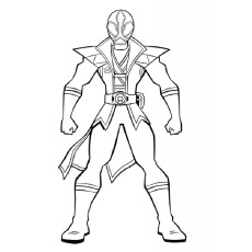 mighty morphin power rangers coloring pages at getdrawings