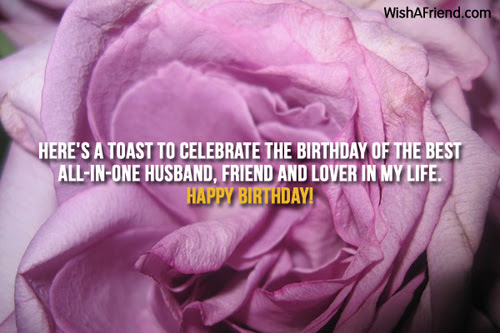 Husband Birthday Messages