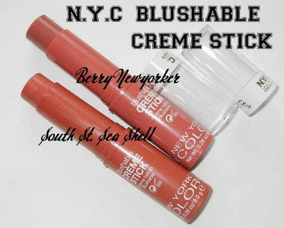 When Does Uber Pay >> An Indian's Makeup Blog!: N.Y.C Blushable Crème Stick ...