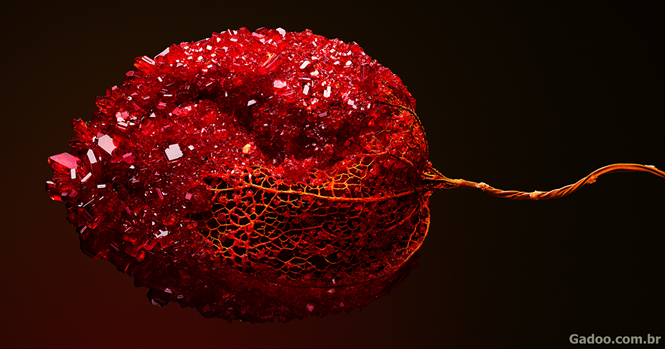 Artista cria esculturas botânicas incríveis com cristais