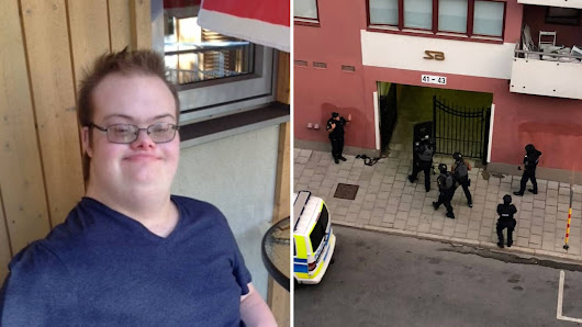 Eric, 20, with Down syndrome – shot dead by police carrying a toy gun