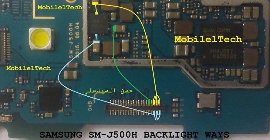 samsung-galaxy-j5-lcd-display-light-ic-solution-jumper-problem-ways
