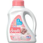 Dreft Stage 1: Newborn High Efficiency Liquid Detergent 32 Load 50 Fl. Oz. Bottle