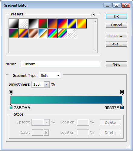 Membuat efek Teks Colorful 3D di Photoshop CS3