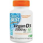 Doctors Best Vegan D3 2500 IU - 60 VegCap