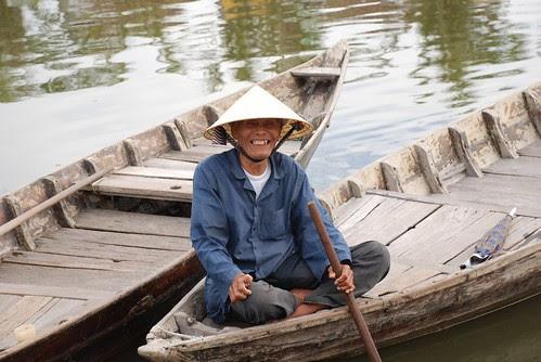 Hoi An fishing man