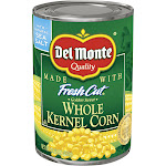 Del Monte Fresh Cut Golden Sweet Whole Kernel Corn 15.25 oz. Pull-Top Can