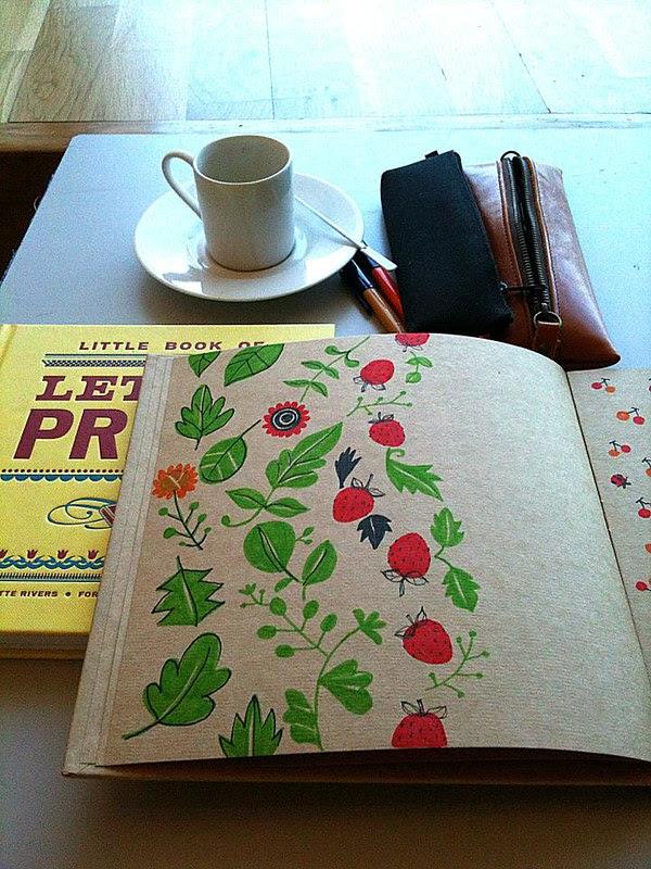Strawberry sketch
