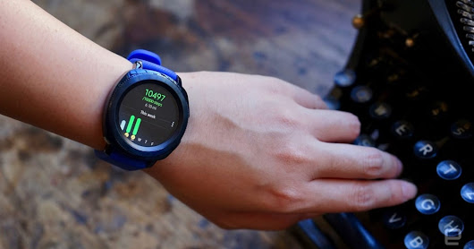 Samsung's Gear Sport smartwatch hits stores this month for $300