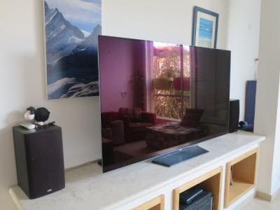 "Hands-on review of LG's 65"" OLEDB6 TV 