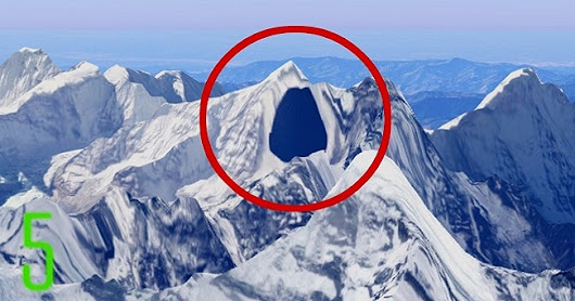 15 Top Secret Places Google Earth Doesn't Want you to See