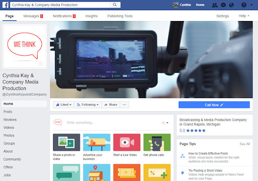 Upgrade Your Facebook Business Page with Cover Videos | Cynthia Kay