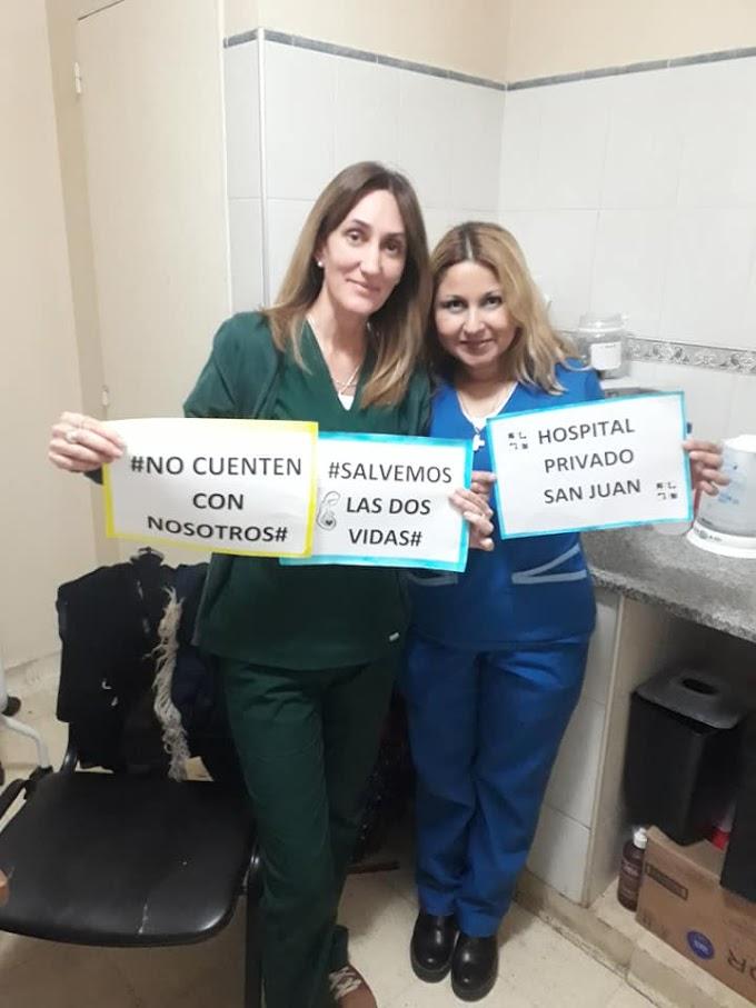 Médicos sanjuaninos se niegan a realizar ABORTOS