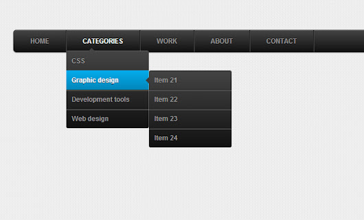 38 Free Open Source CSS Dropdown Navigation Menus