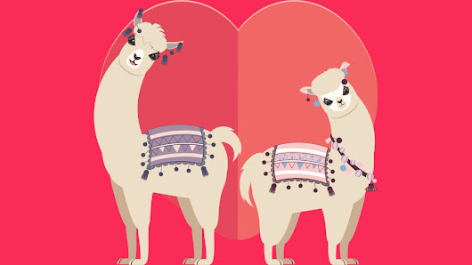 Llama And Alpaca With Love T Shirt By AnnArtshock Design By Humans