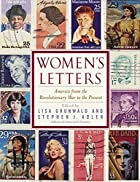The cover for Women's Letters: America from the Revolutionary War to the Present