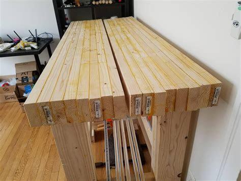 piece workbench top woodworking stack exchange