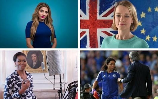The most inspirational and powerful women of 2016 - and who you should watch in 2017...