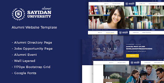 Download Sayidan - University Alumni WP theme nulled | OXO-NULLED