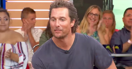 Matthew McConaughey Shares Biblical Inspiration For Son's Name - Inspirational Videos