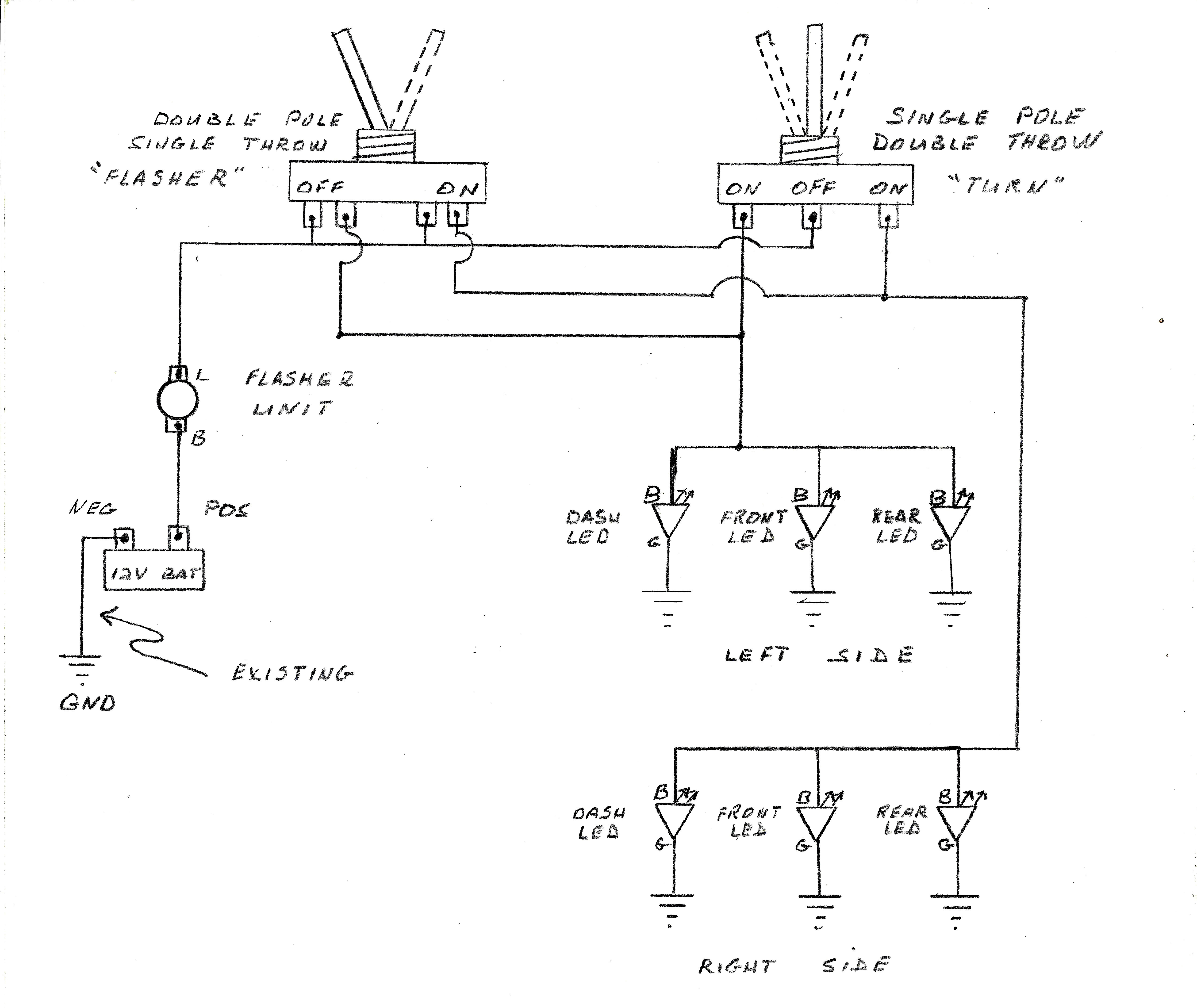 Diagram How Can I Wire My Blinkers Headlights And Taillights To