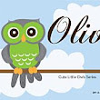 Cute Little Owls Series - Olive