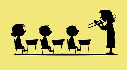 Teacher talks funny by Ape Lad