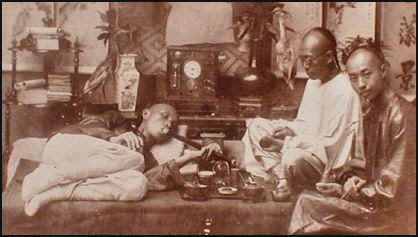 Image result for chinese on opium