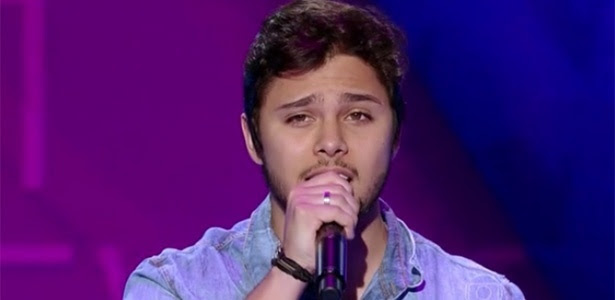 Candidato do The Voice já foi sucesso no Programa Raul Gil (Foto: Reprodução/SBT)