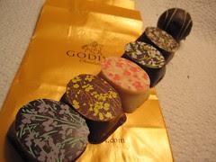 Godiva Spring Truffles