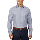 Ben Sherman Men's Dress Shirt, Gray, 16 - 32/33