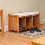 Entryway Bench Furniture Collection: Shore Collection Honey Maple ...