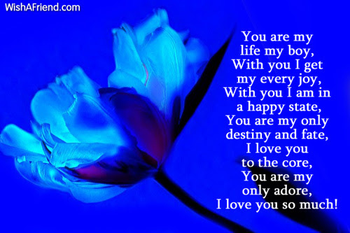 My Life Starts With You Poem For Boyfriend