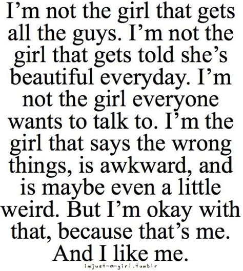 About Me Quotes And Sayings For Girls