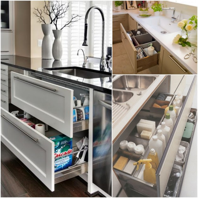 The Ideal Kitchen: Under Sink Drawers   Live Simply by Annie