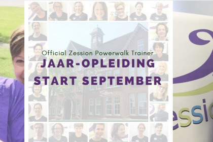 Jaaropleiding OZPT | Easy checkout | Zession Powerwalkschool