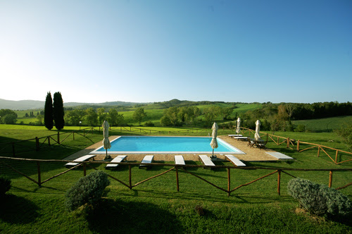 Pool disinfection with electrolysis of salt | Villa in Tuscany