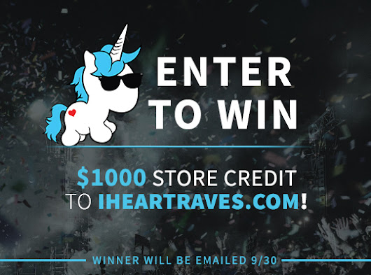iHeartRaves $1,000 Store Credit Shopping Spree Giveaway
