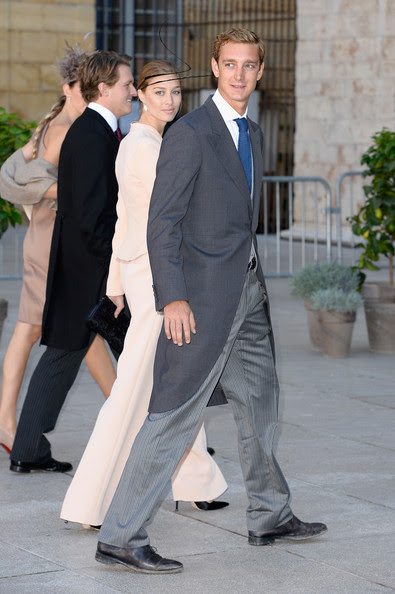 Beatrice Borromeo and Pierre Casiraghi - Religious Wedding Of Prince Felix Of Luxembourg & Claire Lademacher