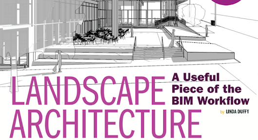 Landscape Architecture: A Useful Piece of the BIM Workflow