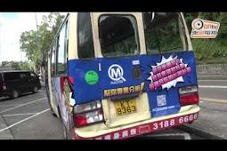 Kecelakaan Beruntun Libatkan Minibus, Taksi, dan Truk di Sai Kung