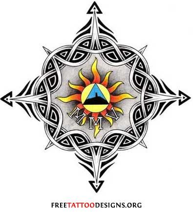 65 Sun Tattoos Tribal Sun Tattoo Designs