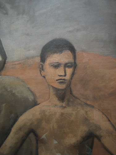 Boy Leading a Horse (details), 1905-06, Pablo Picasso _7447