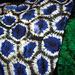 Honeycomb tie dye