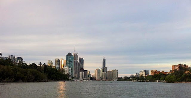 Brisbane from the City Cat