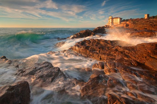"""Castel Boccale"" by paolostoppani"