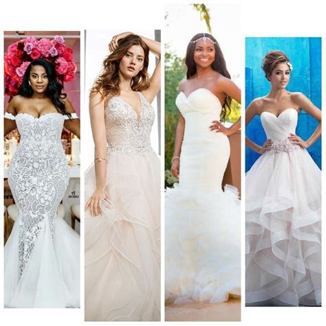 Check Out 8 Wedding Gown Styles,Their Names And Ideal Body