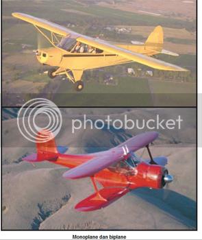 Komponen Utama Pesawat Terbang, sayap