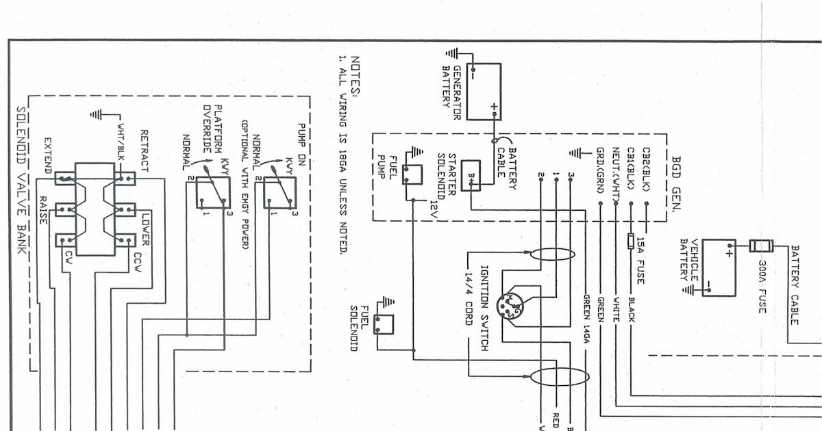 Versalift Wiring Schematic